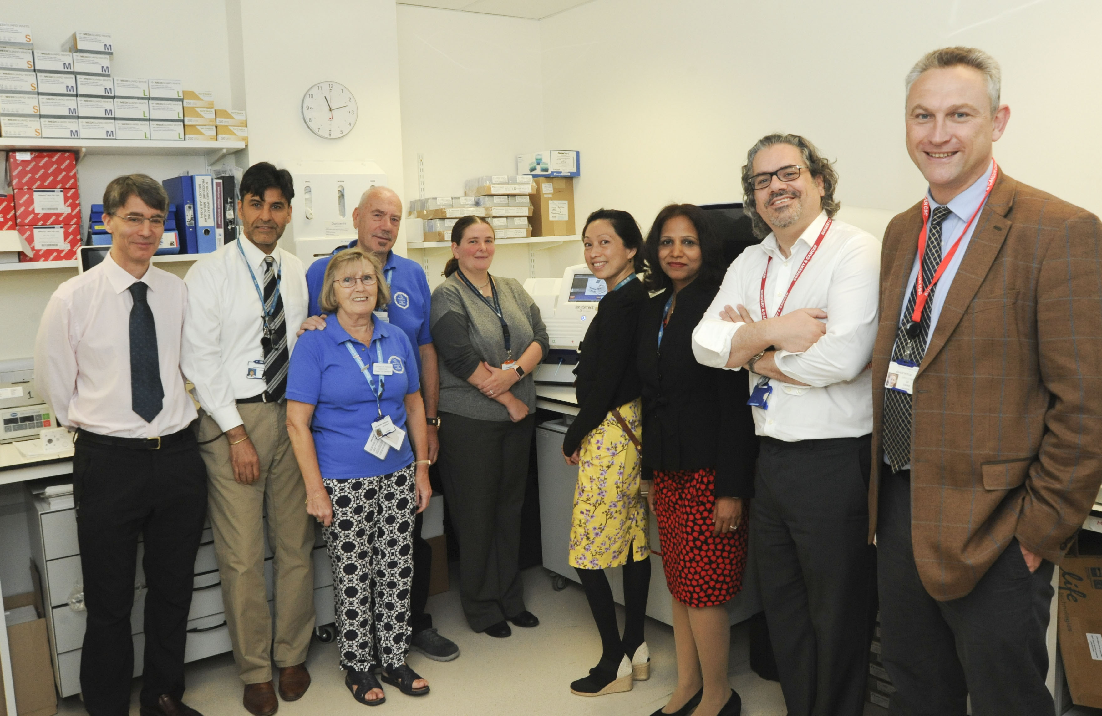 New machine to improve treatments for cancer patients' in Portsmouth.