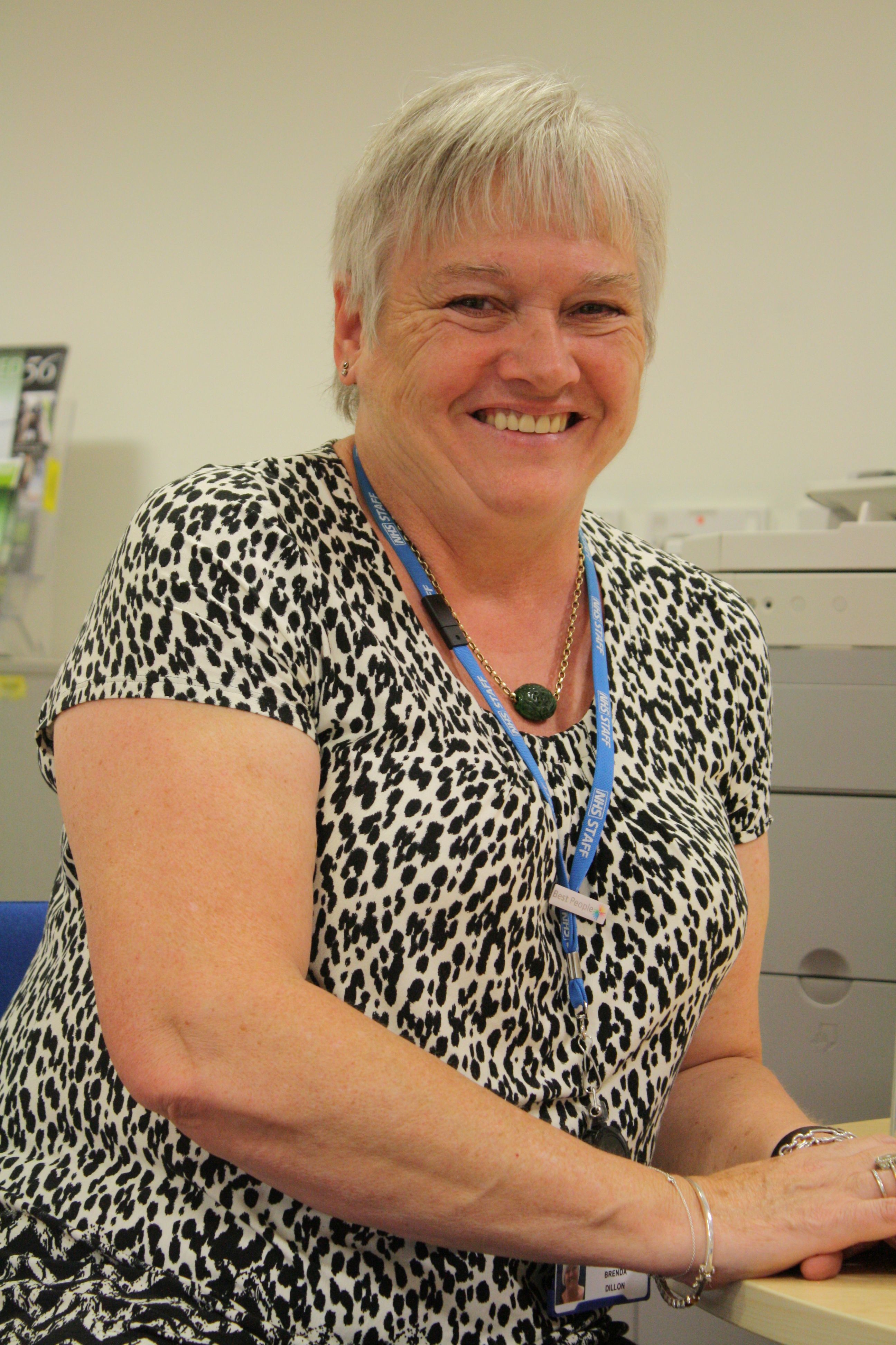 Brenda Dillon's 40-year career at Portsmouth Hospitals NHS Trust
