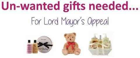 Un-wanted gifts needed
