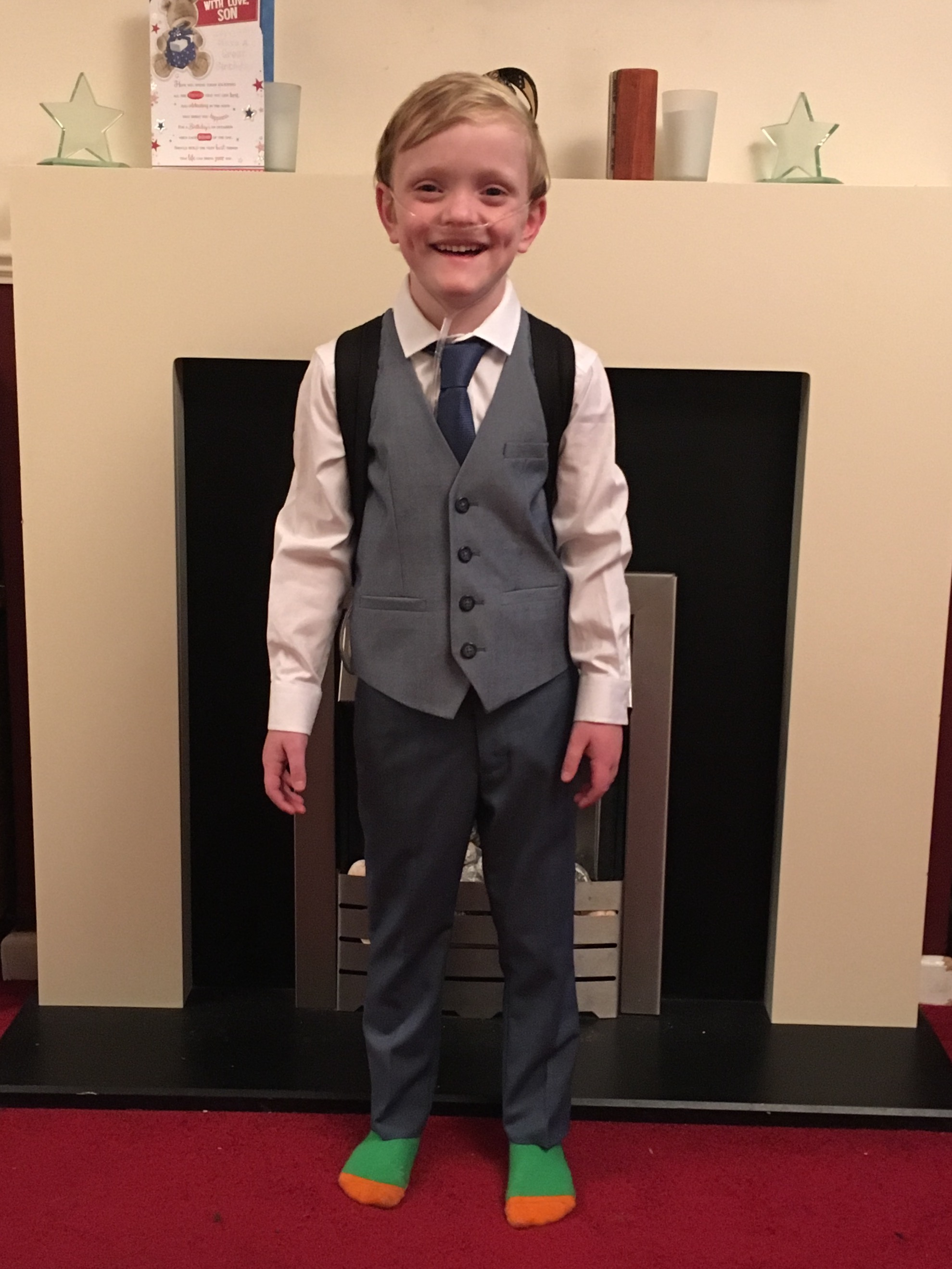 A young QA patient has been named 'Inspirational Child'
