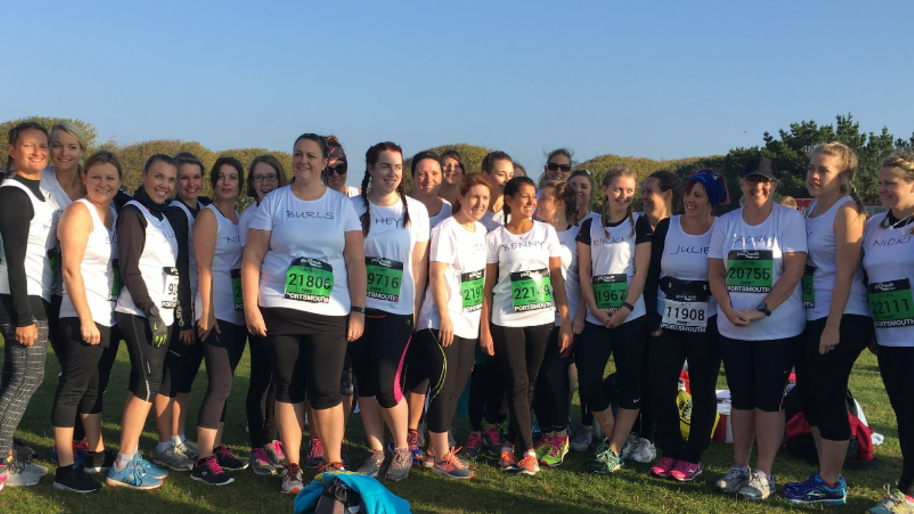 QA midwives raise an amazing £13,000