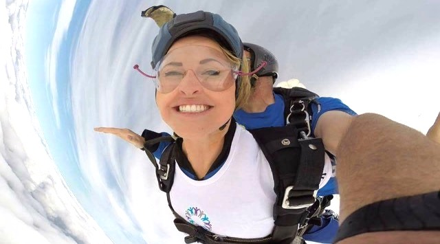 Take part in a skydive to raise funds for QA Hospital