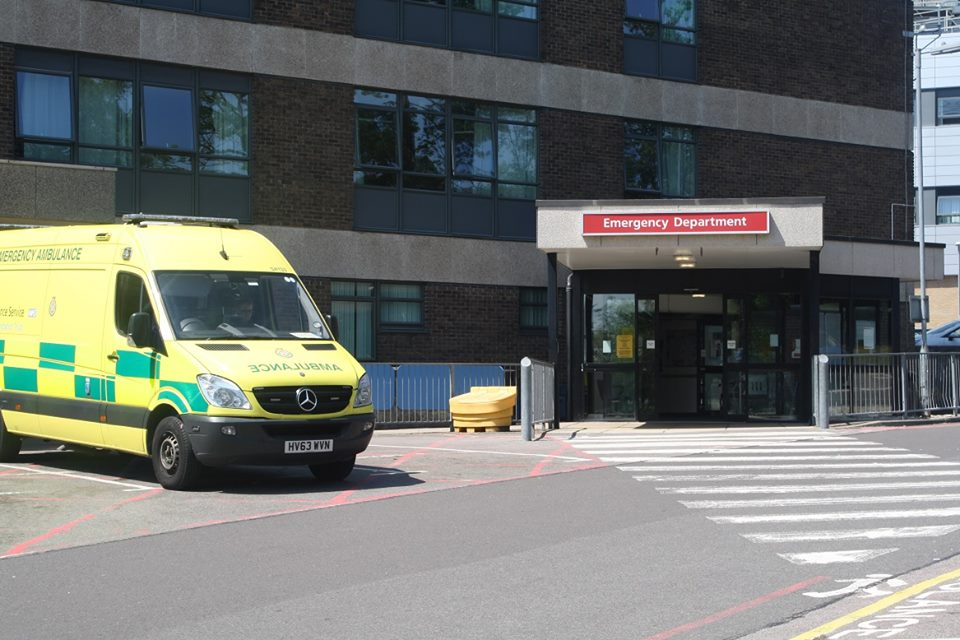 Our Emergency Department here at Queen Alexandra Hospital is currently very busy