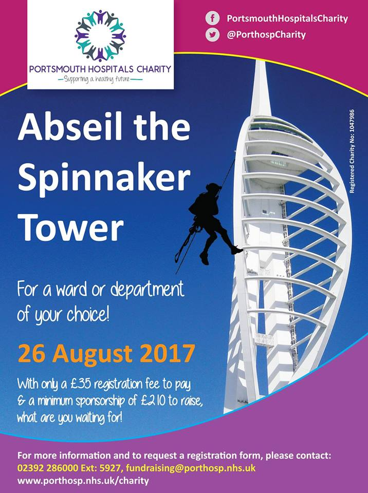 **FREE Spinnaker Tower Abseil place**