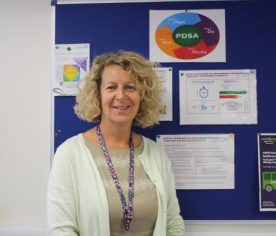 Maria Purse, Urgent Care Transformation Programme Manager at QA Hospital