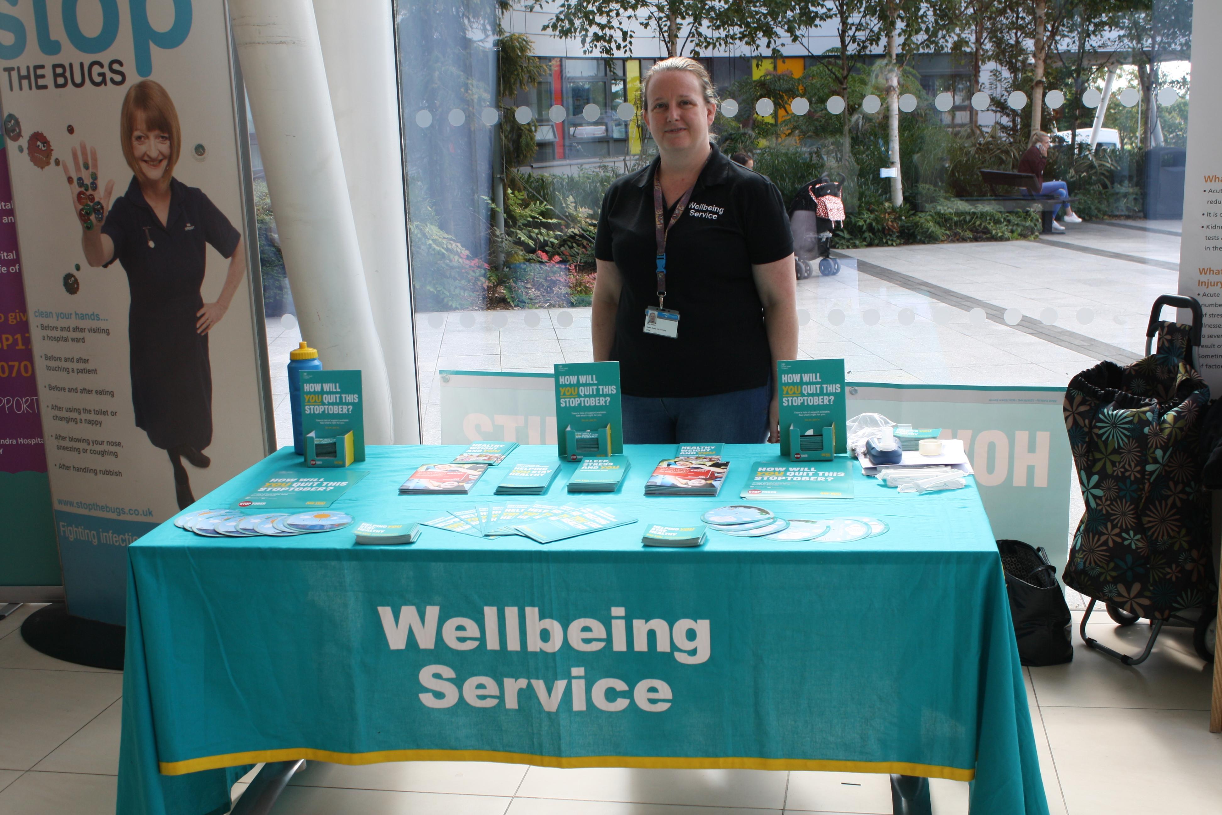 Wellbeing Service Stoptober