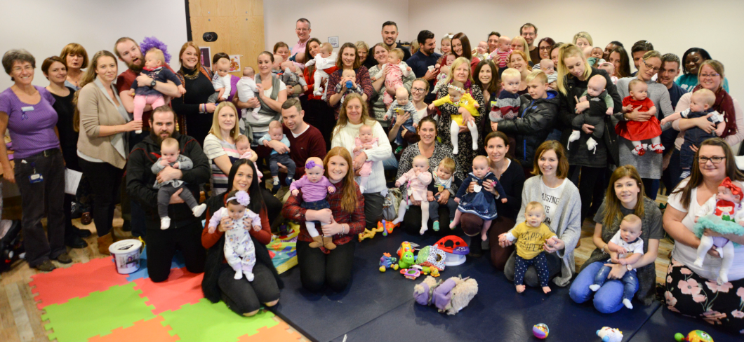 Teddy bear picnic for NICU babies