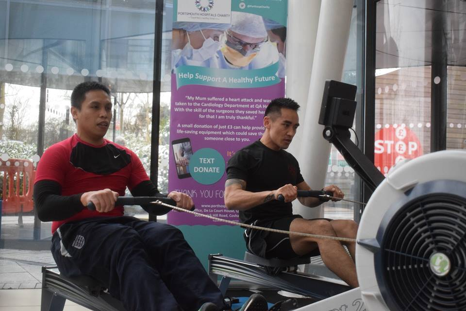 Please support the rowathon, which is helping to fund research in the fight against cancer right here at your local hospital