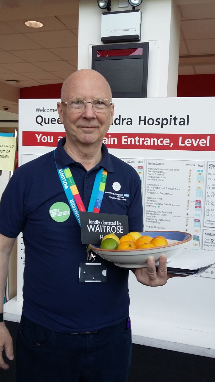 For Bill Ware, volunteering at QA is the most rewarding experience