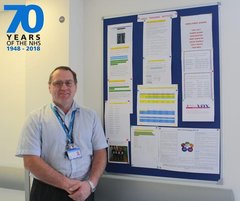 For the 70th birthday of the NHS Dave Britton talks about his role in HSDU