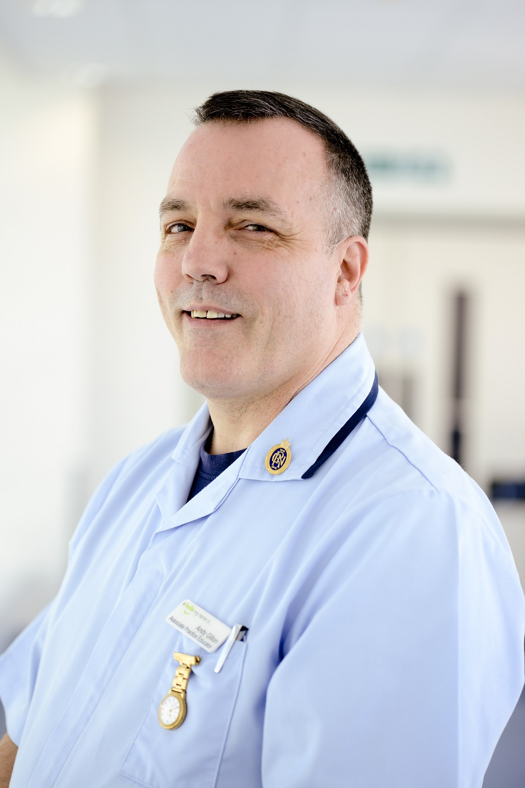 Andy Gillon has dedicated 30 years to Portsmouth Hospitals