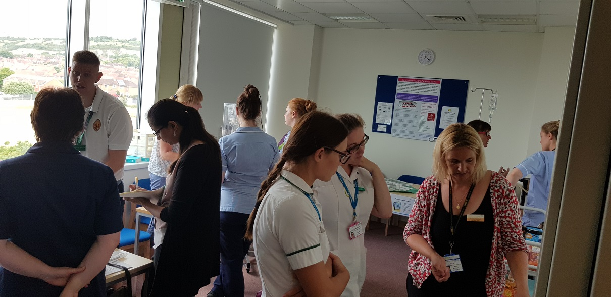 Pharmacy team hold informative event for staff