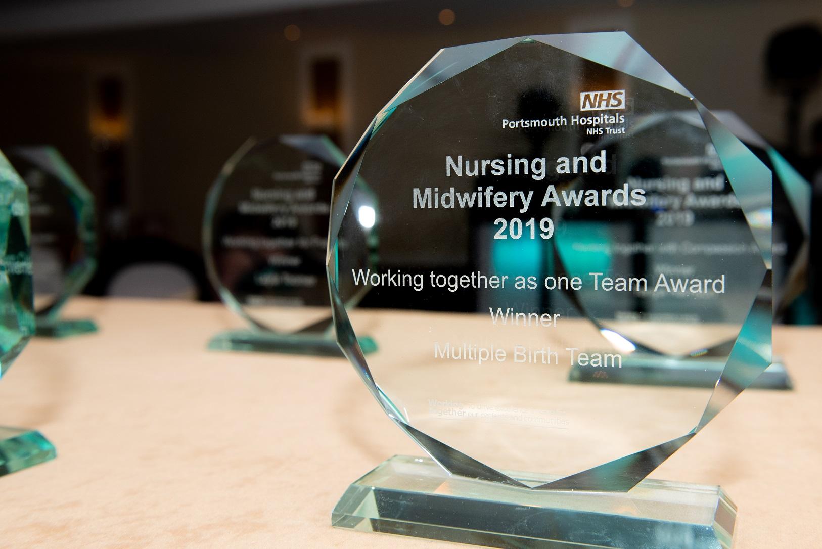 Celebration at Nursing and Midwifery Awards evening