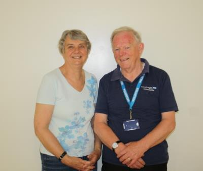 Volunteers Week: Sylvia and John