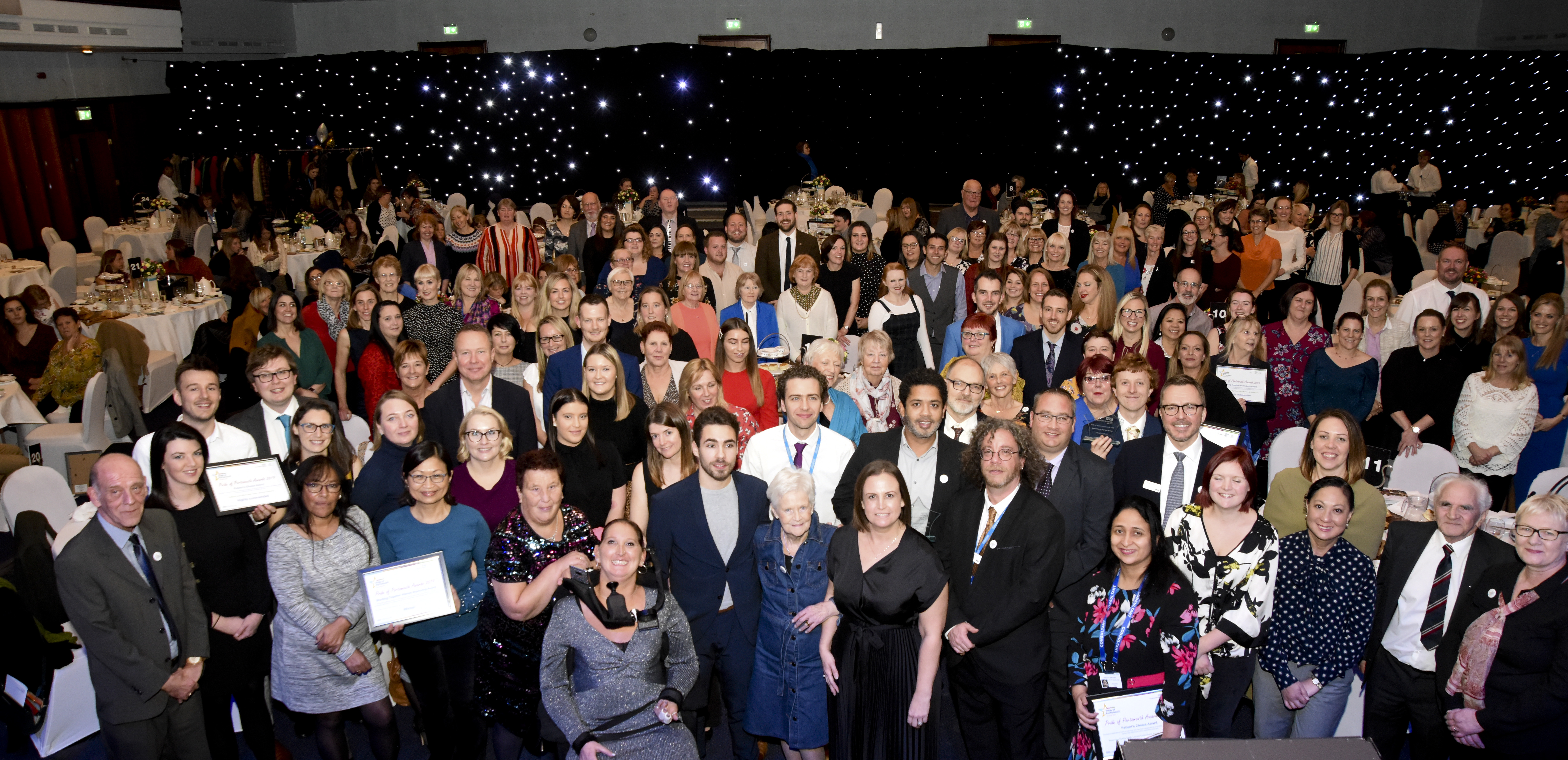 Inspirational teams and individuals celebrated at Pride of Portsmouth Awards