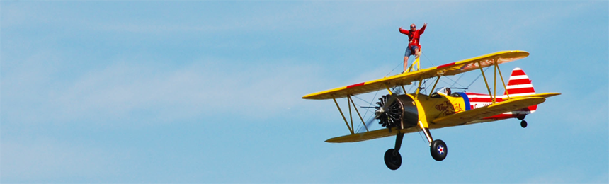Banner for Wing Walk page