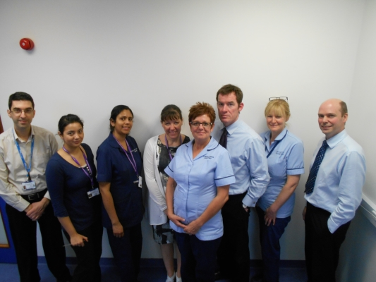 Ophthalmology research team